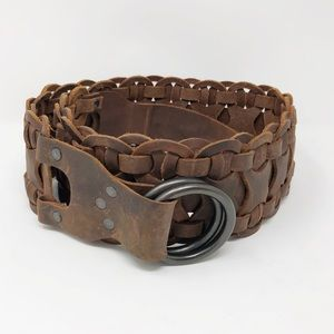 Denim & Supply Ralph Lauren | Wide Leather Belt L